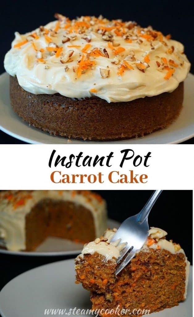 instant pot carrot cake recipe