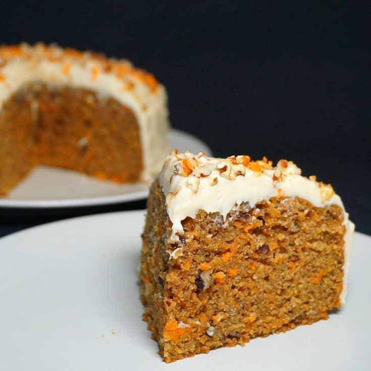Instant Pot Carrot Cake with Cream Cheese Frosting