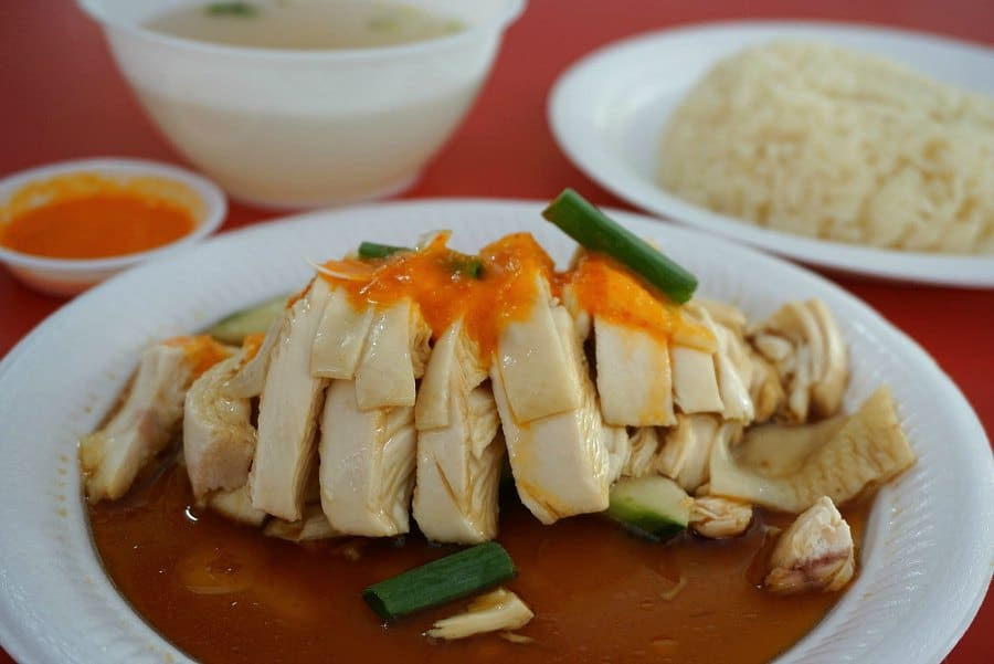 Instant Pot Hainanese Chicken