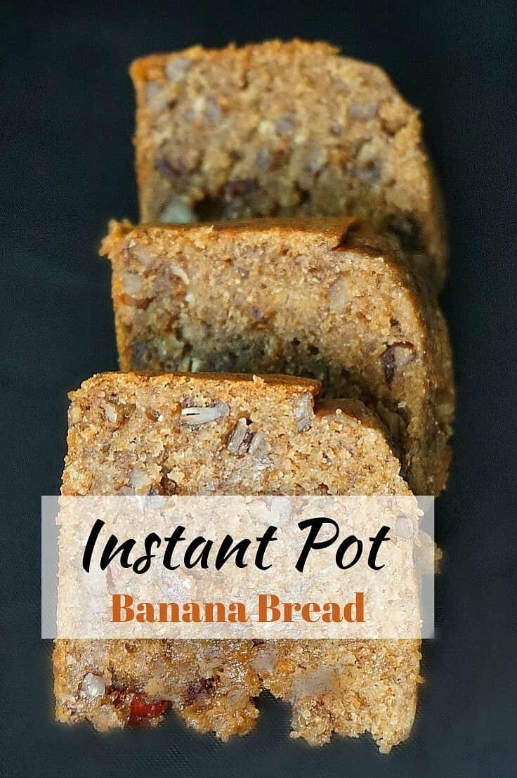 Instant Pot Banana Bread Recipe