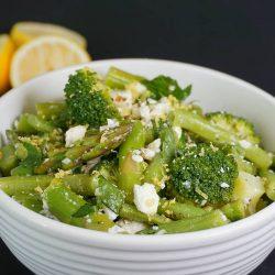 Instant Pot Vegetable Medley with Lemon Vinaigrette and Feta