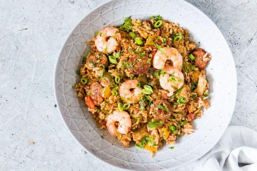 Instant Pot Seafood Jambalaya