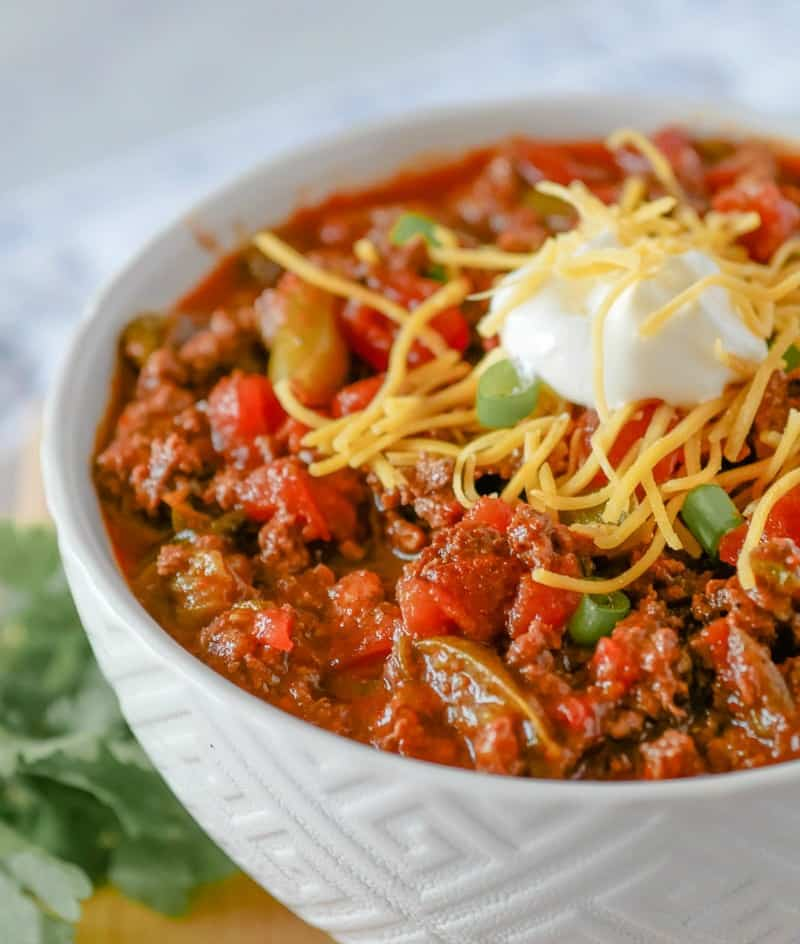 Instant Pot Cincinnati Style Chili
