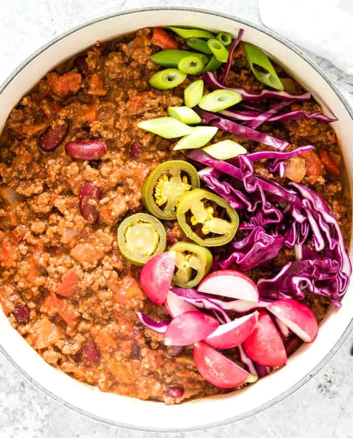 Hearty Venison Chili