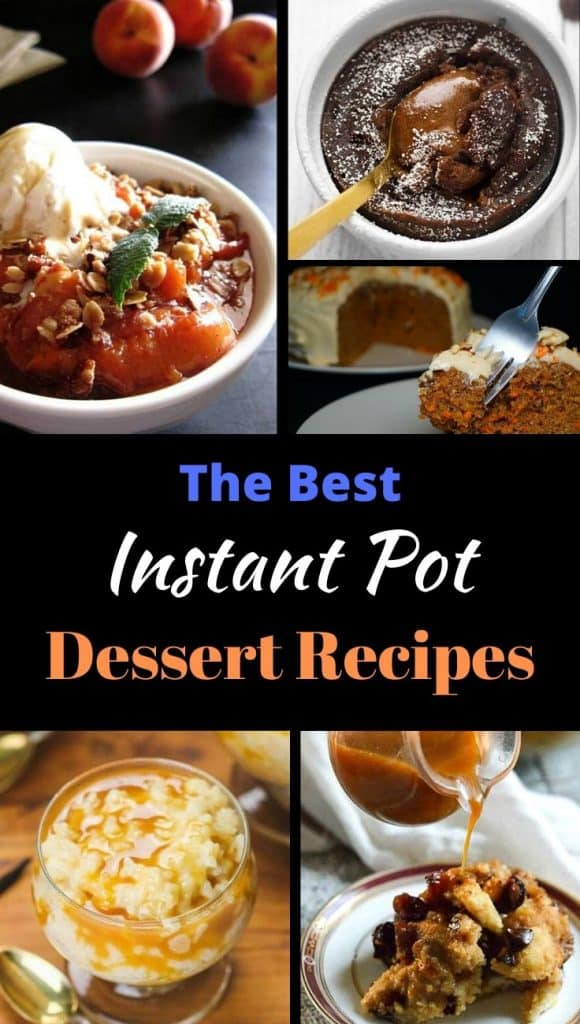 20+ Easy Instant Pot Dessert Recipes