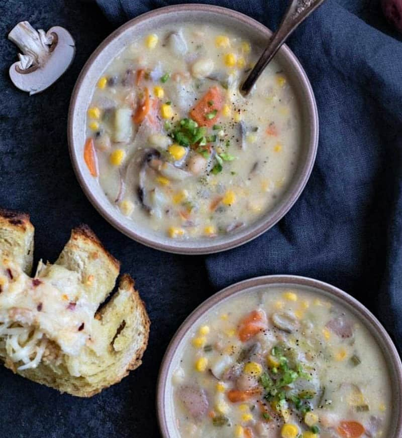 Instant Pot Corn Potato Chowder