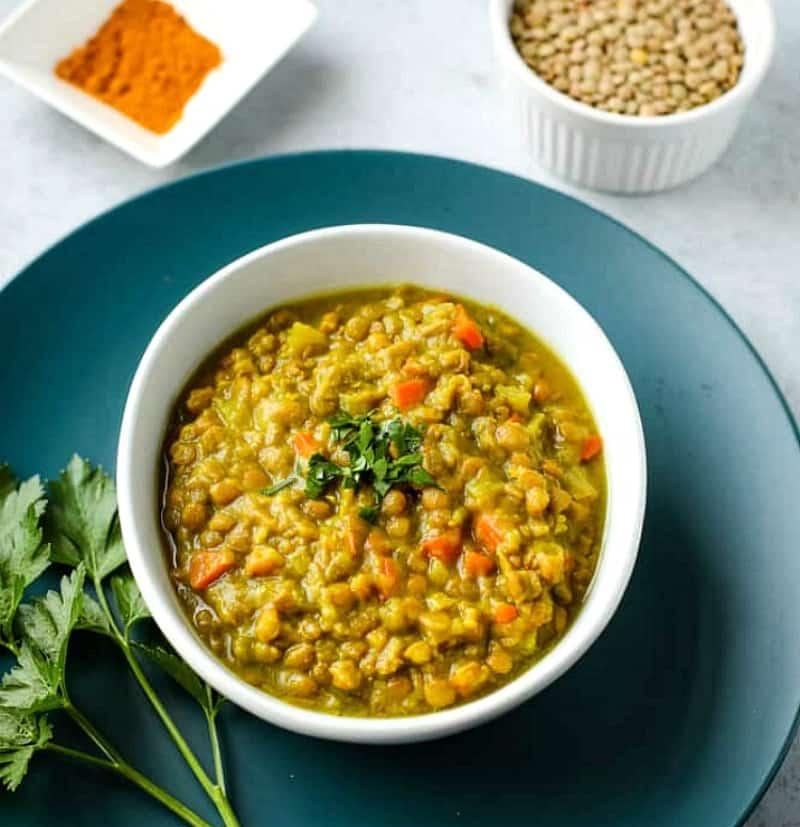 Instant Pot Lentil Sup