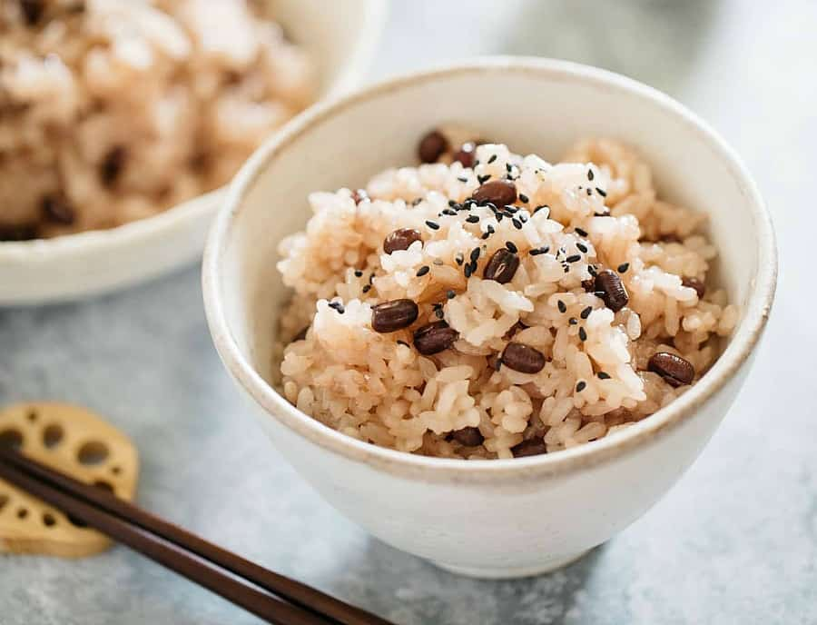 Instant Pot Sekihan Rice