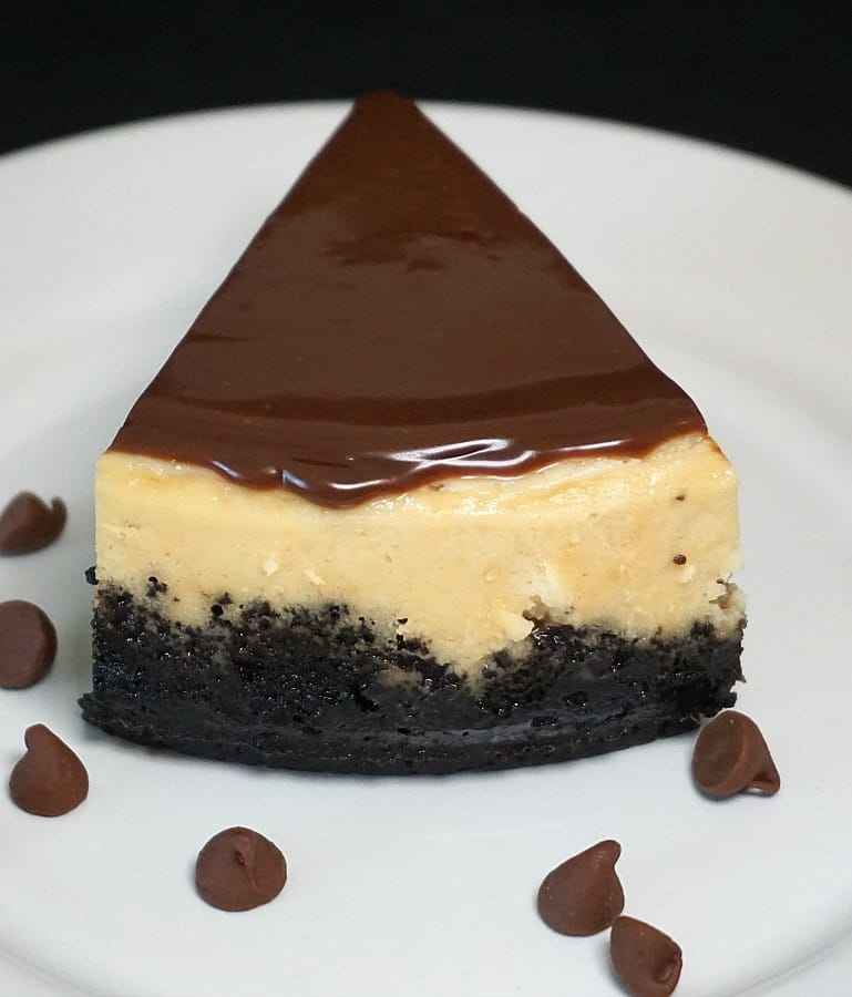 Easy Chocolate Chip Glaze