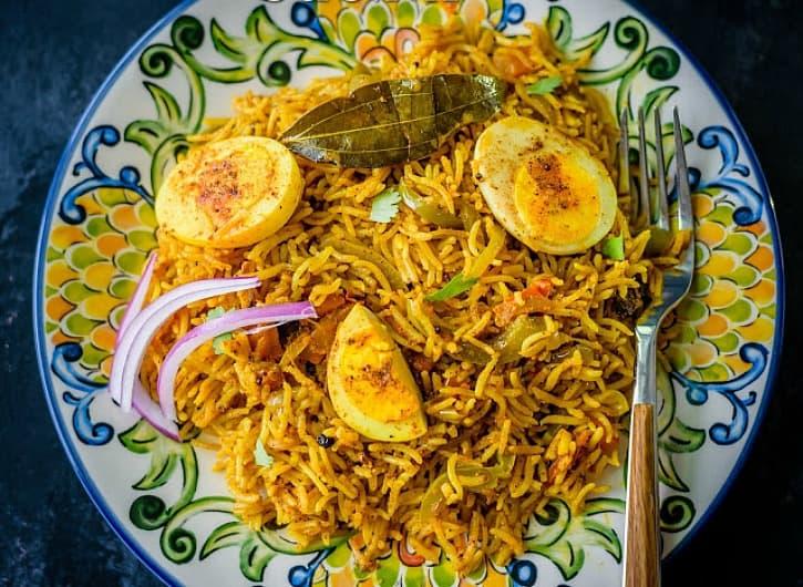 Instant Pot Egg Biryani