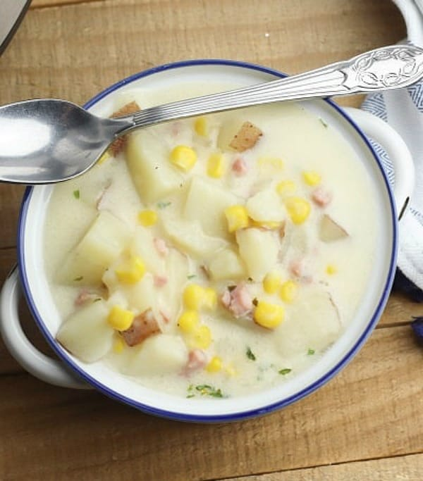 Instant Pot Ham and Potato Soup