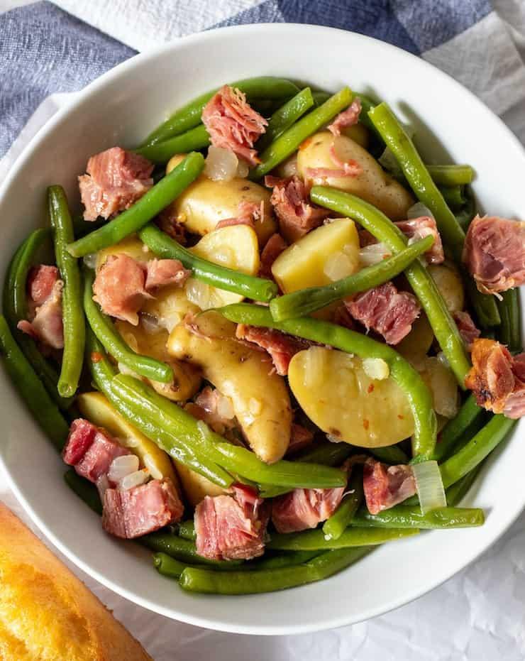 Instant Pot Ham and Potatoes