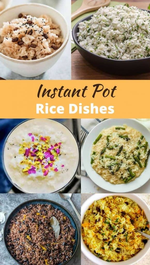 25+ Instant Pot Rice Recipes