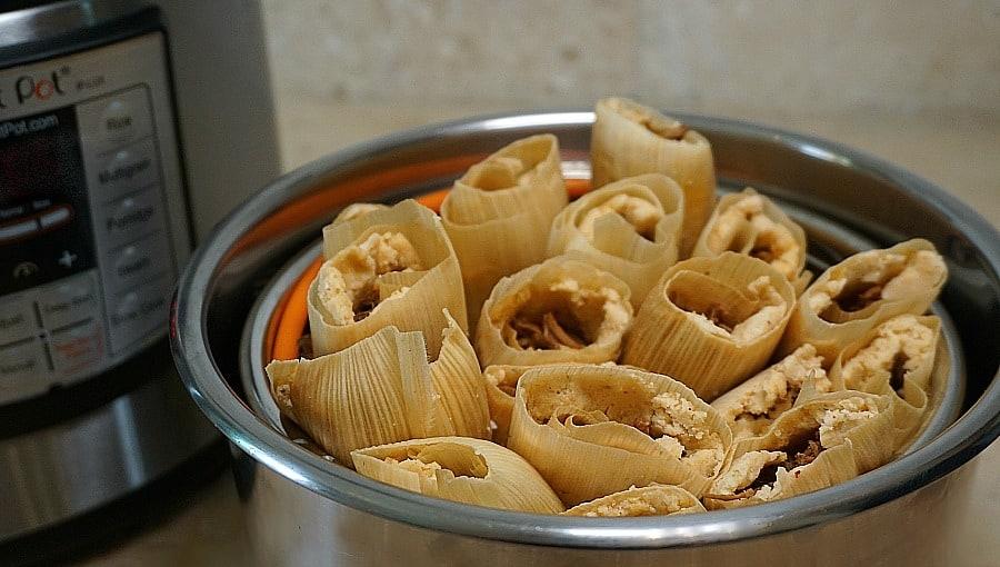 Instant Pot Tamales