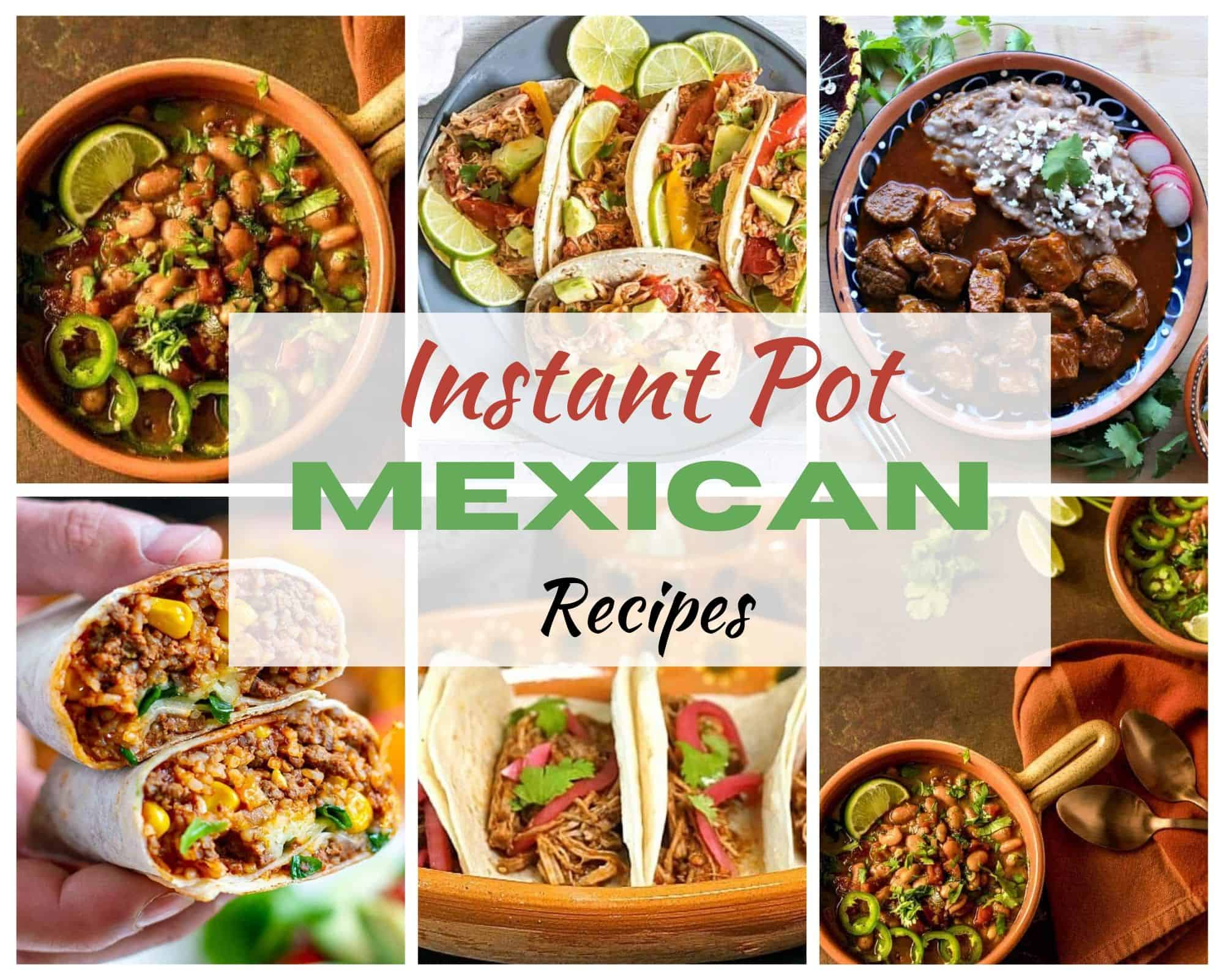 Instant Pot Mexican Recipes