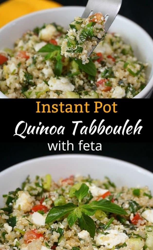 Instant Pot Quinoa Tabbouleh