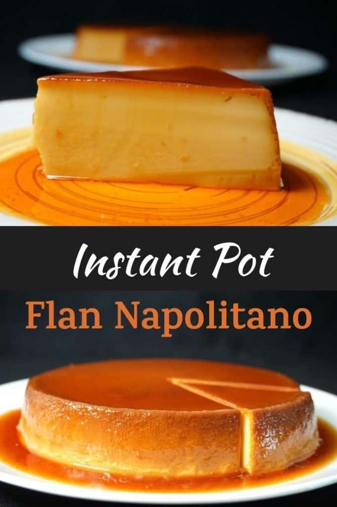 Instant Pot Flan Napolitano