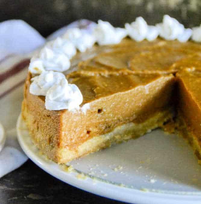 Honey Orange Pumpkin Pie