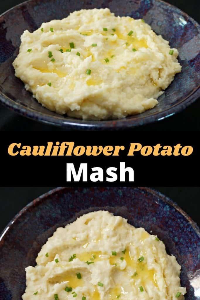 Instant Pot Cauliflower & Potato Mash
