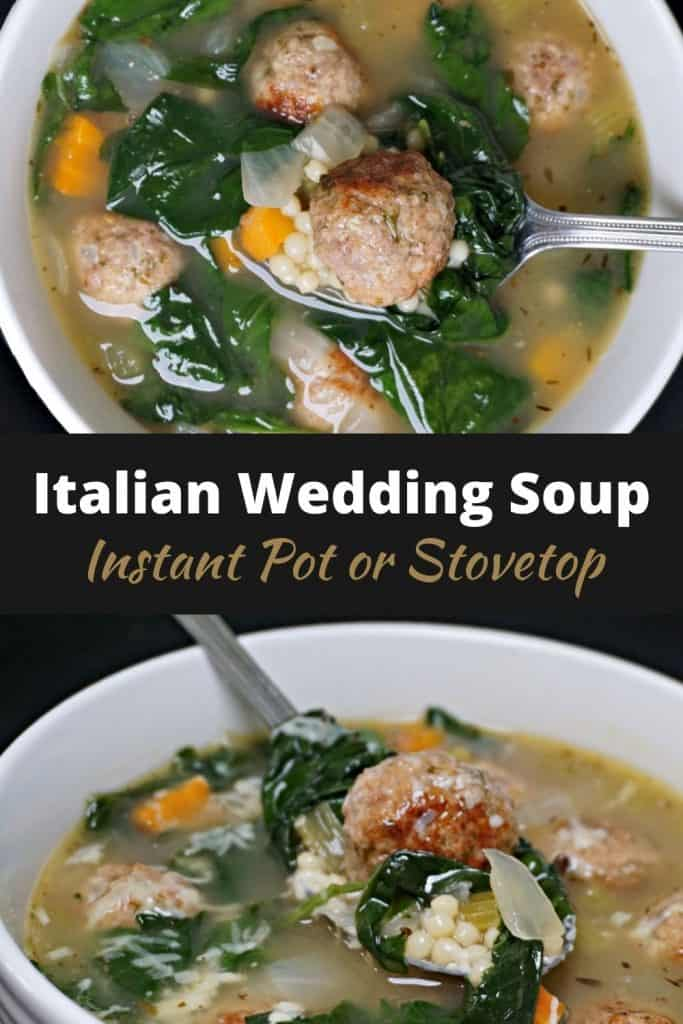 Instant Pot Italian Wedding Soup REcipe