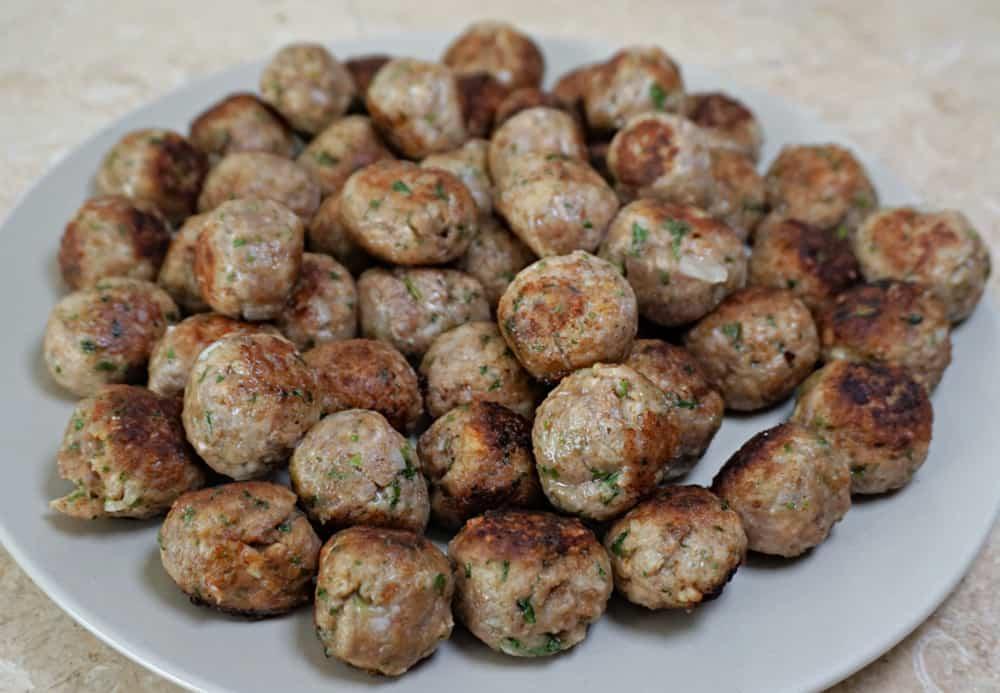 Meatballs for Wedding Soup